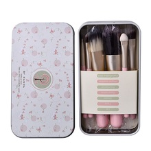 Pro 7 Pcs Makeup Cosmetic Brushes Set Powder Foundation Eyeshadow Lip Brush Tools