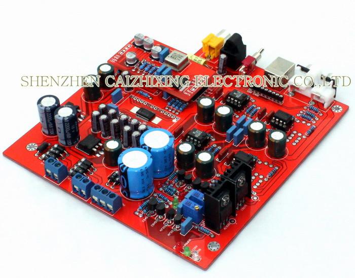 Free-Shipping-PCM1794-WM8805-DAC-decode-board-Decoder-not-including-USB-card-