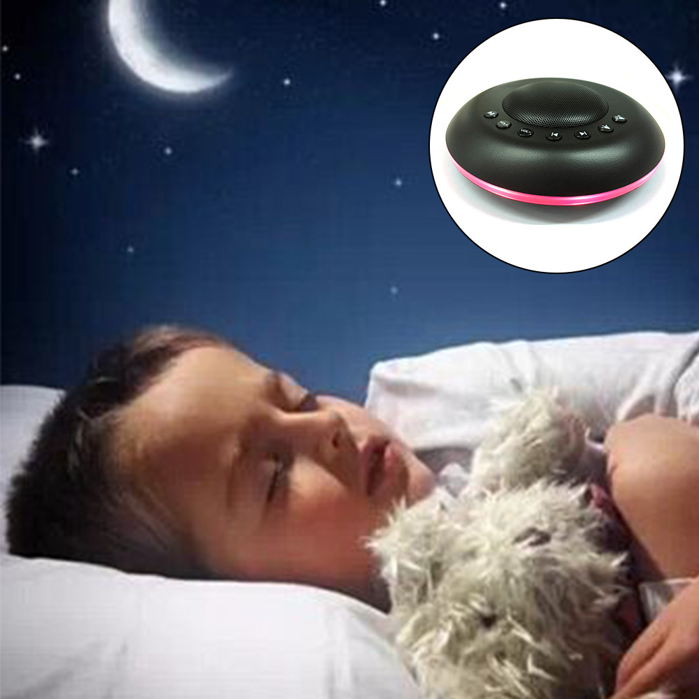 White Noise Machine Night Light Kids Memory Timer Function Soothing Sounds