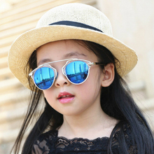 Vazrobe Mirrored Sunglasses Kids Girls Boys Sun Glasses for Children Baby Reflective Shades UV400 Brand Designer Best Quality