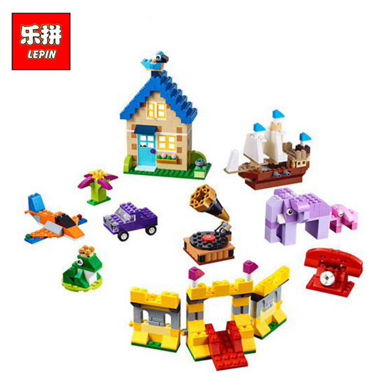 Lepin 42017 Friends Creative Kids Toys The Legoingly 10717 Extra Large Brick Box Set Model Building Blocks Bricks Kids Toys Gift kids s home toys my first number train model 50pcs set large size building blocks duplo large particles brick toy for kids gift