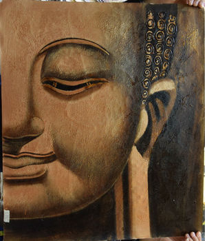 Oil painting on canvas Buddha Classical Home Decoration Wall art picture hand painted