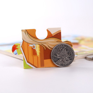 Image 4 - Nieuwe Aankomen Houten 9 Stuks Van Cartoon Dieren Puzzel Vroegschoolse Onderwijs Houten Speelgoed LL97