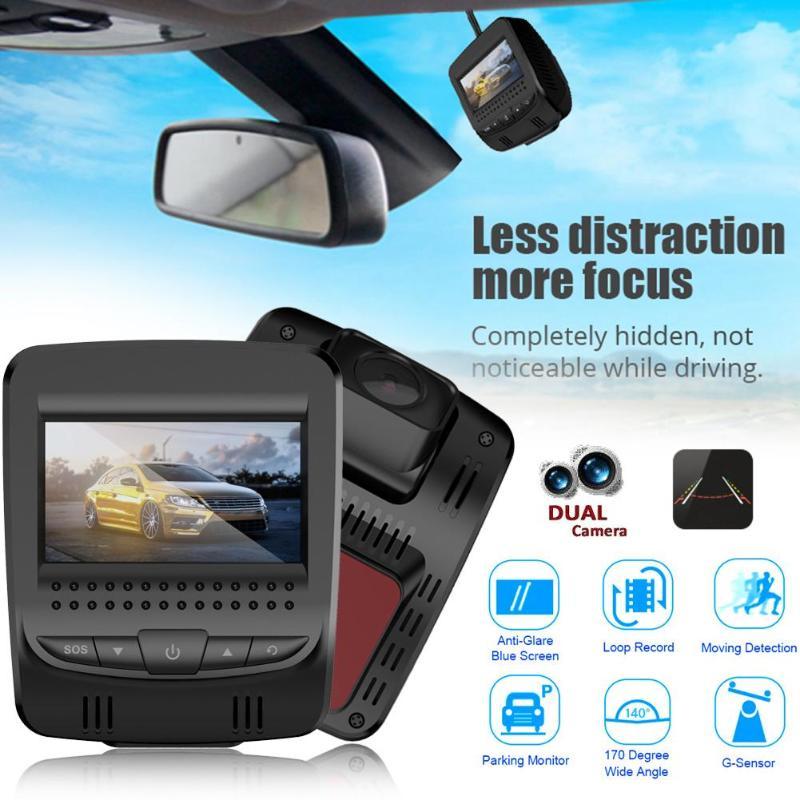 2.45 3G WiFi Car DVR Camera Car Digital Video Recorder Night Vision Dash Cam 140 Degree Wide Angle GPS Tracker Camcorder