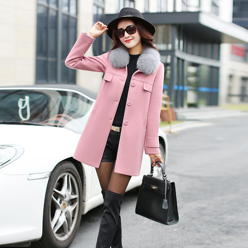 High Quality Pink Winter Coats Women Promotion-Shop for High ...