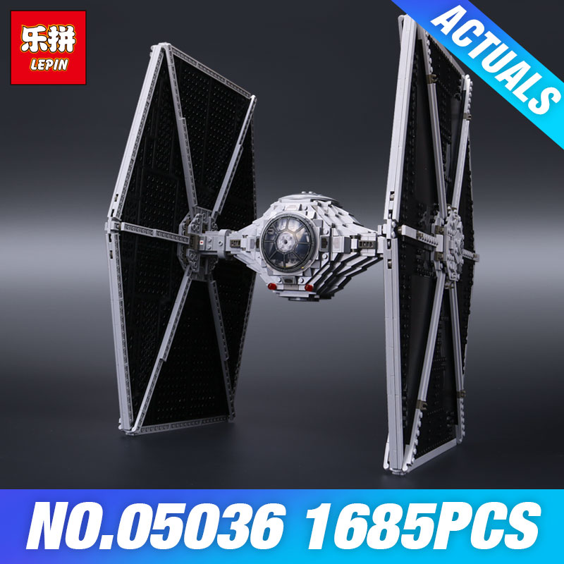 Lepin 05036 Star Plan 75095 TIE Fighter Children Wars Toys Model Building set Educational Blocks Bricks DIY Kids Christmas Gifts встраиваемая посудомоечная машина полностью встраиваемая kuppersberg gl 6033