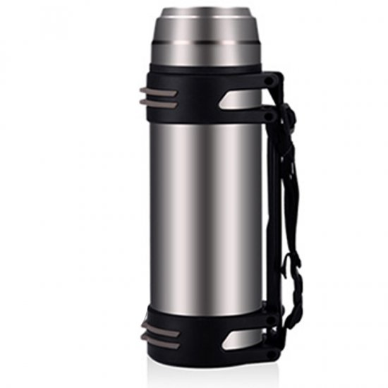 New Arrival and Hot Sale 2000ml large capacity outdoor stainless steel vacuum cup thermos water bottle kuroko no basket basuke kagami anime stainless steel vacuum thermos mug cup comics cartoon