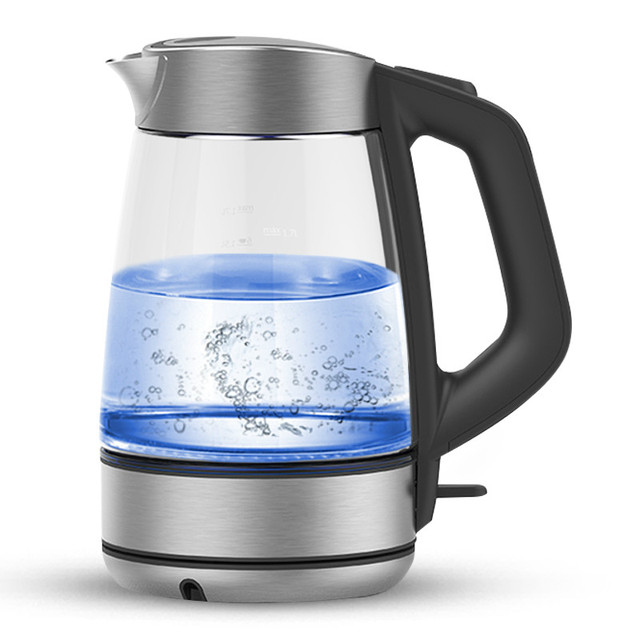 Glass electric kettle Boiler heating food grade 304 stainless steel large capacity household Safety Auto-Off Function