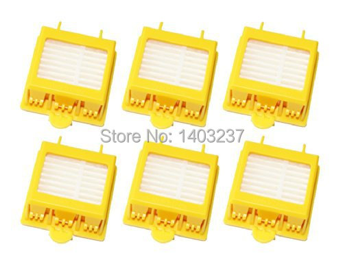 6 x Hepa Filter Vacuum Cleaner Accessory Kit Replacement for iRobot Roomba 700 Series 760 770 780