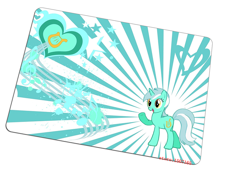 my little pony mouse pad Pegasus gaming mousepad cute gamer mouse mat pad game computer desk padmouse keyboard large play mats