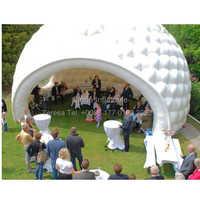Wymienny nadmuchiwany namiot kopułowy na zewnątrz nadmuchiwany namiot igloo dla holiday party