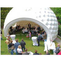 Removable inflatable dome tent for outdoor event  inflatable igloo tent for holiday party
