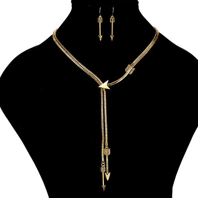 Multilayer Arrow Alloy Gold...