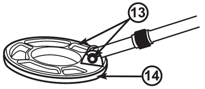 Caçador de tesouros profissional detector de metais