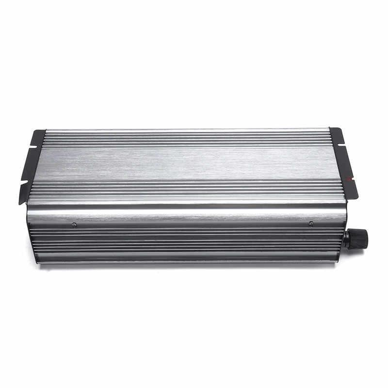 المزدوج LCD ذكي الشمسية العاكس DC إلى AC الصرفة موجة جيبية عاكس الطاقة 12 V/24 V/48 V إلى 220 V 6000W-peak للمنزل/سيارة/صناعة