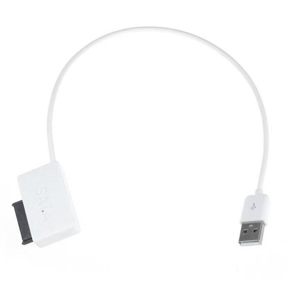 Image 2 - Laptop Sata Cable SATA to USB Adapter 6P + 7P SATA to USB2.0 cd rom Cable 13 Pin Adapter Box-in Computer Cables & Connectors from Computer & Office
