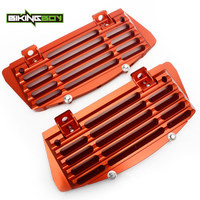 BIKINGBOY Radiator Guard for KTM SX 125 250 350 SXF XC F 250 350 450 EXC F 500 XC W 150 2017 2018 Engine Cooling Cover Protector