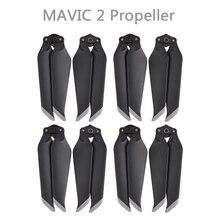 4 pary DJI MAVIC 2 PRO ZOOM 8743F śmigło niski poziom hałasu szybkie uwalnianie łopatki śmigła Propd dla DJI MAVIC 2 akcesoria PRO