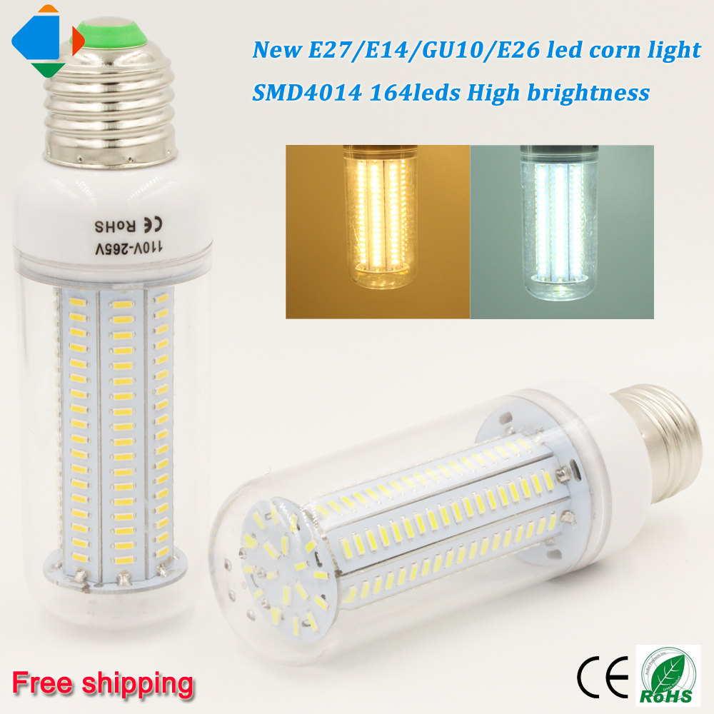 Online buy wholesale e27 led lampen from china e27 led lampen 2 pcs led corn bulb lampen e27 e26 e14 gu10 smd4014 164leds 16w home for lights parisarafo Gallery
