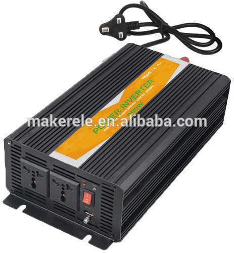 MKP800-121B-C 800watt 110vac output off-grid 12v dc ac power inverter dc to ac power inverter with battery charger inverter