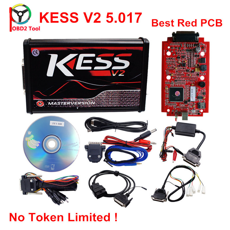 2017 Kess V5.017 Online ECU Programming Tool KTAG V7.020 With Unlimited Token KESS 5.017 With ECM TITANIUM 2.61/ WinOLS As Gift unlimited tokens ktag k tag v7 020 kess real eu v2 v5 017 sw v2 23 master ecu chip tuning tool kess 5 017 red pcb online