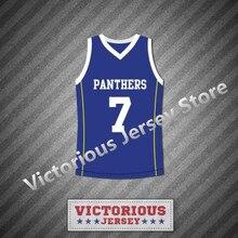 Minanser Friday Night Lights Matt Saracen 7 Dillon Panthers Basketball  Jersey Men 06747be0a