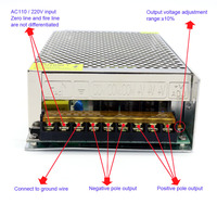 Professional Switching Power Supply Transformer Ac 110 / 220V to Dc 42V 6A 250W for The Color Printer