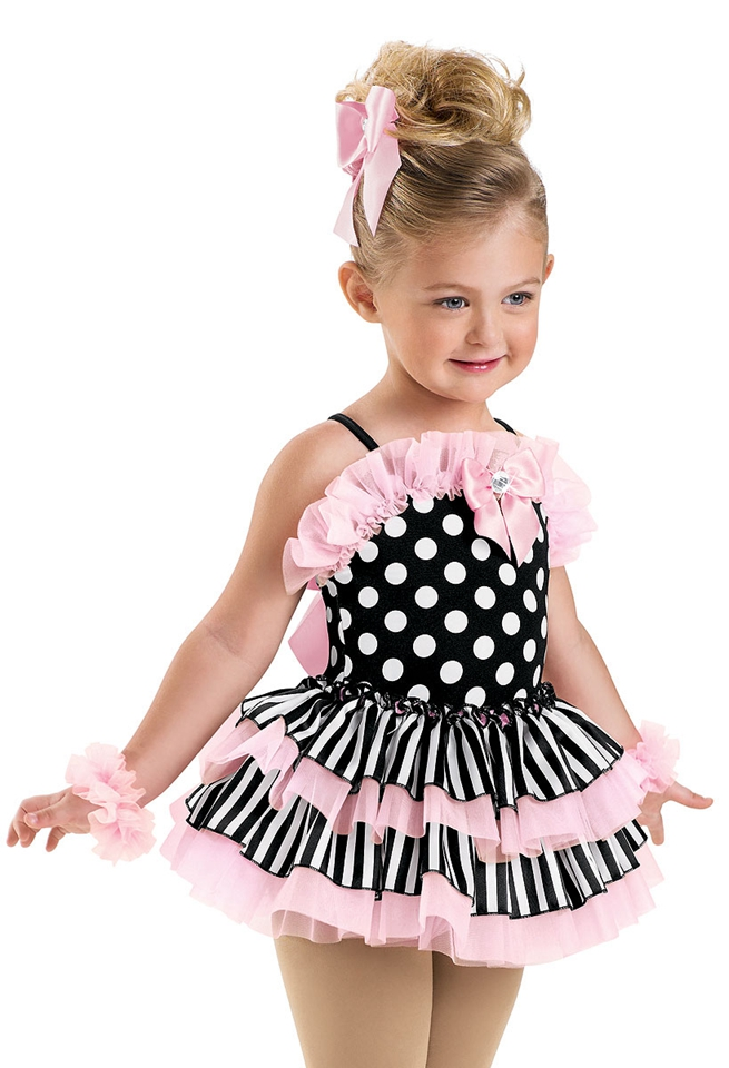2018 New Girl Ballet Competition Dress Modern Dance Dress Child Party Wear with Leotard Kids Stage Show Proformance Dress B-2423