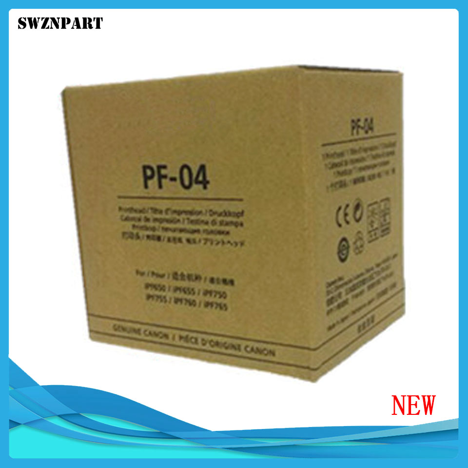 NEW PF-04 Printhead Print Head for Canon iPF650 iPF655 iPF750 iPF755 iPF760 iPF765 iPF680 iPF685 iPF780 iPF785 for canon pf 04 printhead for canon ipf650 ipf655 ipf750 ipf755 ipf760 ipf765 priner head