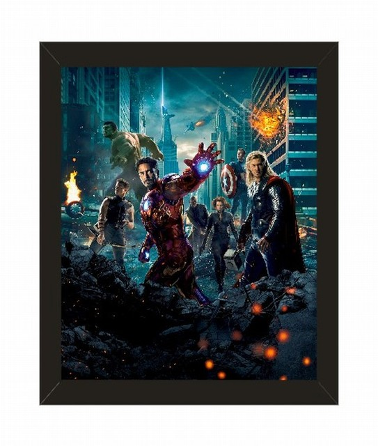 Home Decor Marvel\'s The Avengers Series Movie Poster with Picture ...