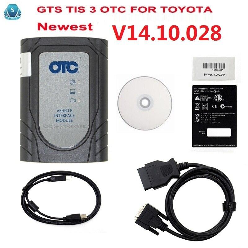Newest GTS TIS 3 OTC scanner For Toyoya IT2 Latest V14 10 028 For Toyota IT3