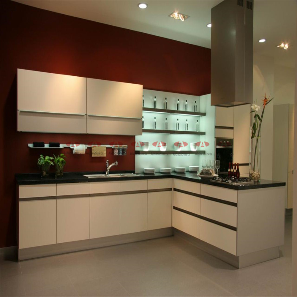 Modern Stainless Steel L Sharp Kitchen Cabinets Sale With