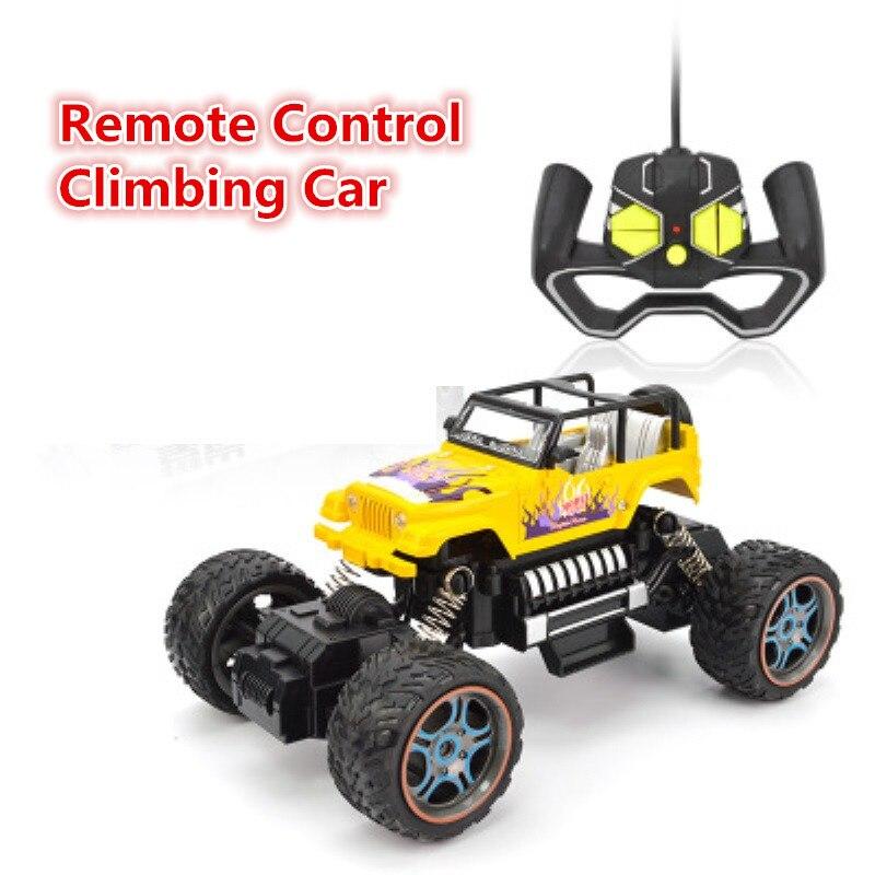 Date 2.4G 2wd tout-terrain escalade voiture télécommande RC voiture de course avec système d'amortissement moteur de puissance 20 minutes de temps de jeu cadeaux pour enfants