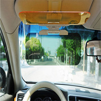 New Free Rotation HD Auto Car Sun Visor Goggle Mirror Sun Shade Block For Driver