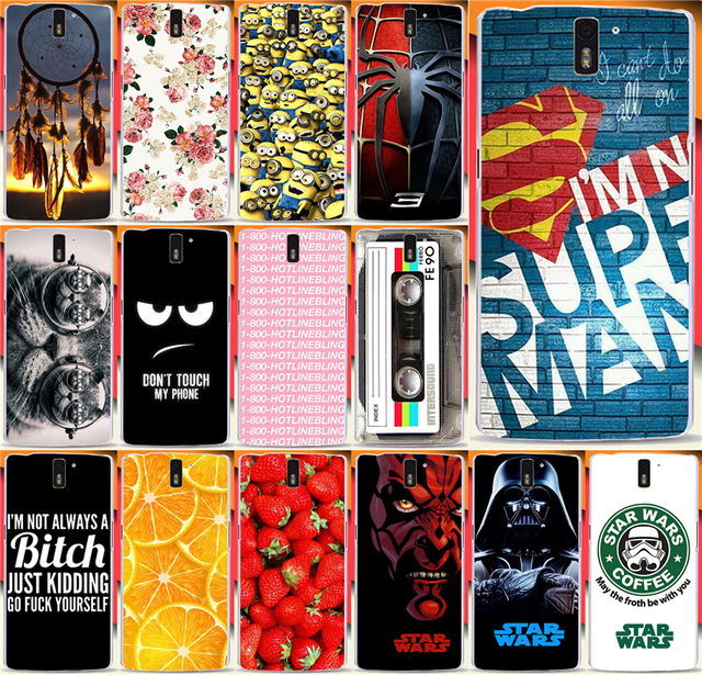 wholesale dealer b16d7 125d9 US $1.98 |Top selling Super Hot Star Wars Coffee Design Super man PC phone  case For Oneplus One One plus One cases back cover skin shell on ...