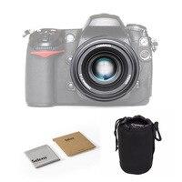 Светодиодная лампа для видеосъемки YONGNUO YN50mm F1.8 с фиксированным фокусным расстоянием большой апертурой Автофокус Объектив для Nikon D800 D300 D3200 ...