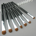 7 Pçs/set maquillaje profesional Maquiagem Escovas de Cabelo de Cavalo Pincel Sombra Cosméticos Fundação Pincéis de Maquiagem Set #85007
