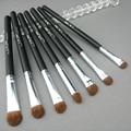 7 Unids/set Pincel maquillaje profesional Pinceles de Maquillaje de Pelo de Caballo de Sombra de Ojos Cosméticos Fundación Pinceles de Maquillaje Set #85007