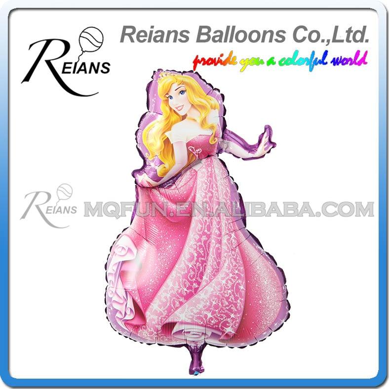 Venta al por mayor 100 unids/lote lote grandes dibujos animados princesa Cinderlla Belle globos de papel blanco nieve niños vacaciones cumpleaños boda decoraciones-in Globos y accesorios from Hogar y Mascotas    3