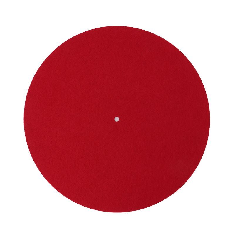 Turntable Mat Slipmat Audiophile 3mm Felt Platter Vinyl Record Players Anti-Vibration Durable Anti-Static