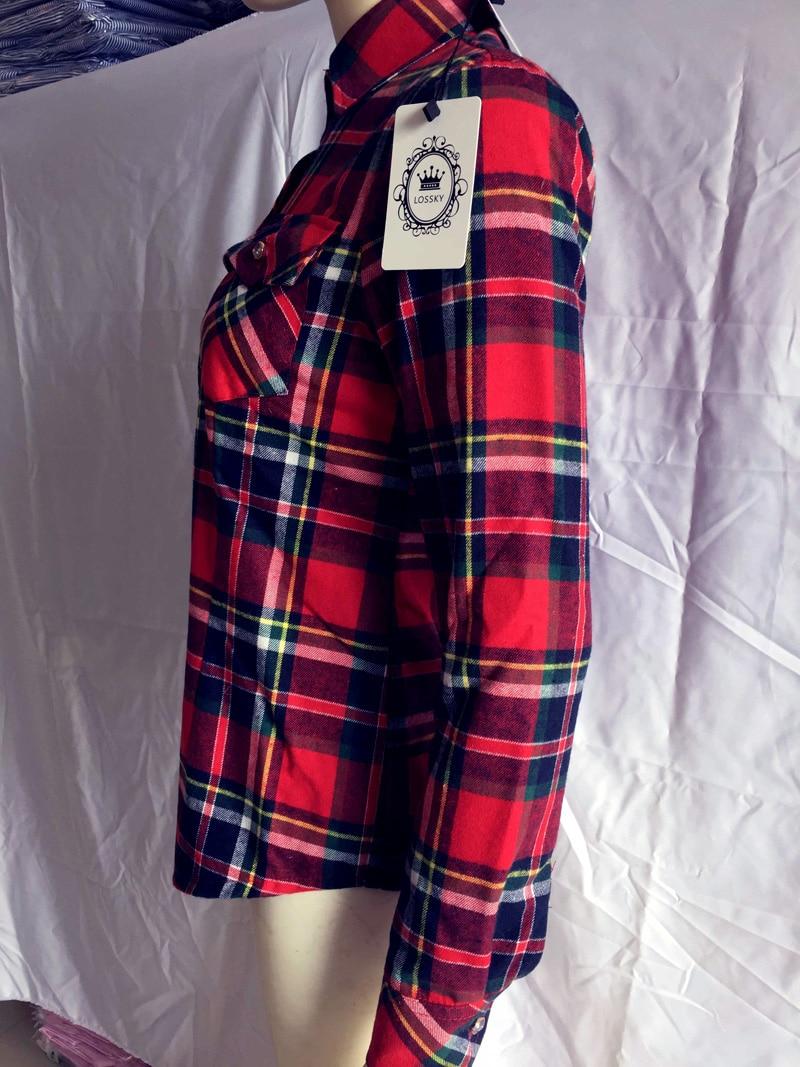 Bluza të Verdha Veshkash Veshmbathje Mbajini Bluza me Pllaka të - Veshje për femra - Foto 4
