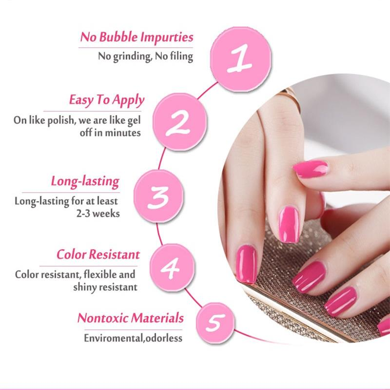 Best Gel Nail Polish Non Toxic - To Bend Light
