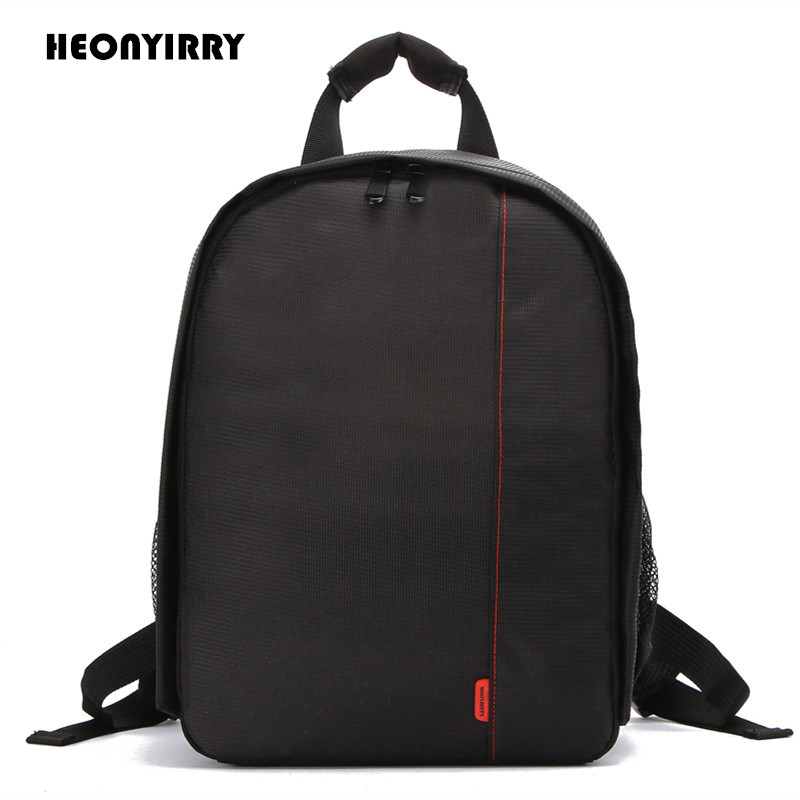 Waterproof Digital DSLR Camera Bag Camera Backpack for Video Camcorder Mochila Fotografia Double Shoulder Bags for Nikon Canon