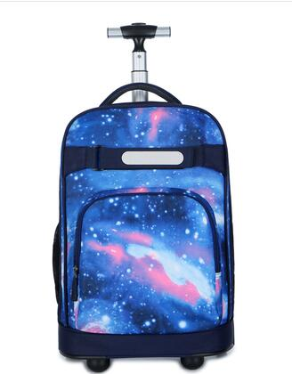 18 inch School Rolling backpacks bag Children Wheeled bag kids School backpack wheels travel Trolley Luggage bags for teenagers цена