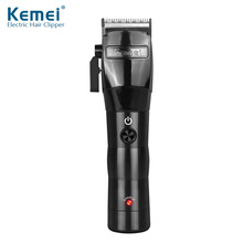 Kemei Professional Hair Clipper Electric Powerful Cordless Hair Trimmer Cutting Machine Haircut Trimmer Styling Tools Barber kemei barber powerful hair clipper led professional hair trimmer for men electric cutter hair cutting machine haircut salon tool