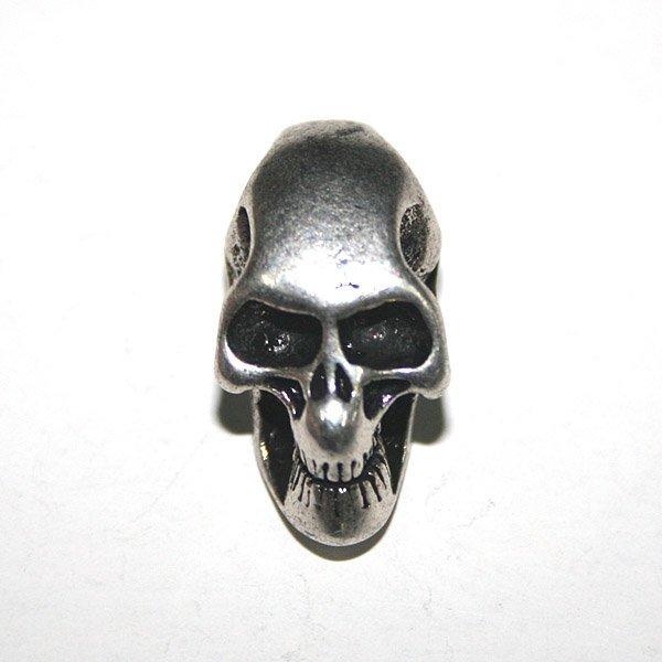 new skullS KNIFE LANYARDS PENDANTS handmade 2-hole-L free ship
