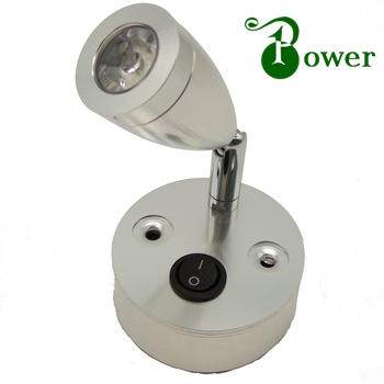12V 24V 2W LED AUTO WALL LAMP