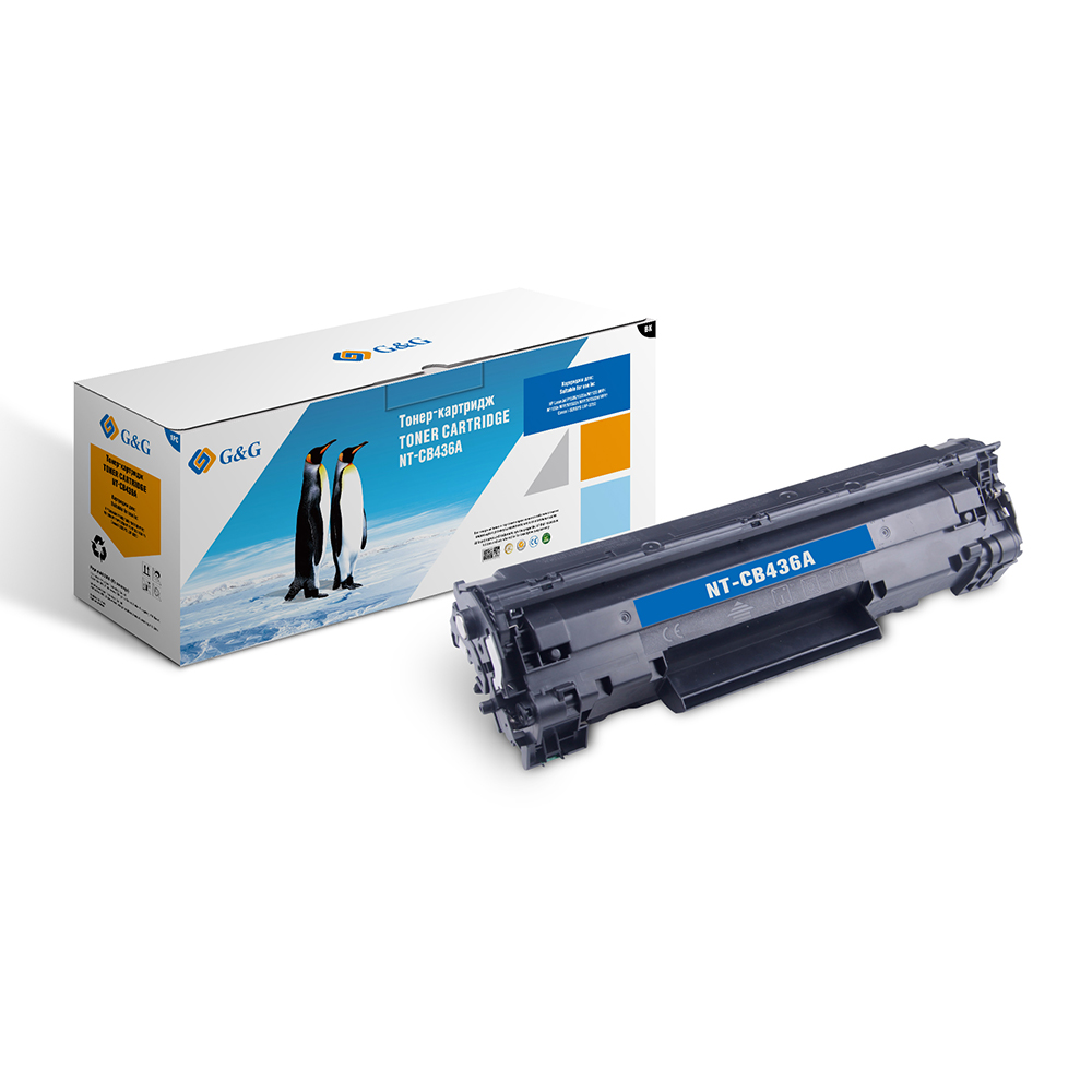 Computer Office Office Electronics Printer Supplies Ink Cartridges G&G NT-CB436Afor HP LaserJet P1505/M1120/M1522 /M1550 alysi длинное платье