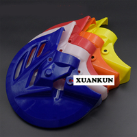 XUANKUN Off Road Motorcycle Modified Front Brake Pad Brakes Shield Modified Turf Cover CRF