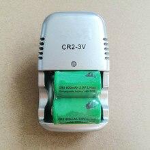 Новые 2 шт. 15270 CR2 800mah аккумуляторная батарея+ 3V CR2 зарядное устройство, цифровая камера, сделанная специальная батарея